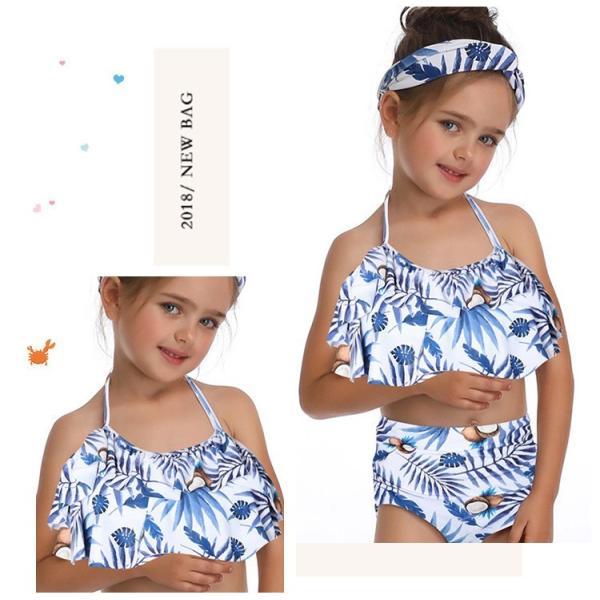 キッズみずぎ セパレート スイムウェア みずぎ 2点セット 女の子 温泉 子供用 ビーチ プール 海 可愛い 水着 オシャレ セパレート水着 fit-001 20