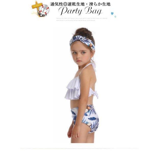 キッズみずぎ セパレート スイムウェア みずぎ 2点セット 女の子 温泉 子供用 ビーチ プール 海 可愛い 水着 オシャレ セパレート水着 fit-001 08