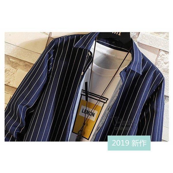 ファッション メンズ カジュアルシャツ 長袖シャツ ストライプシャツ ビジネス 通勤 ワイシャツ おしゃれ 秋物 開襟シャツ お兄系 部屋着 ネルシャツ アメカジ|fit-001|12