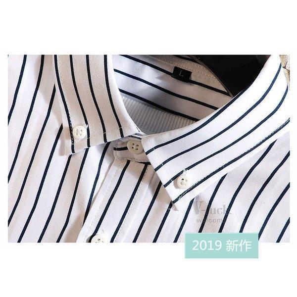 ファッション メンズ カジュアルシャツ 長袖シャツ ストライプシャツ ビジネス 通勤 ワイシャツ おしゃれ 秋物 開襟シャツ お兄系 部屋着 ネルシャツ アメカジ|fit-001|16