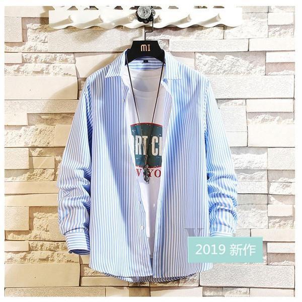ファッション メンズ カジュアルシャツ 長袖シャツ ストライプシャツ ビジネス 通勤 ワイシャツ おしゃれ 秋物 開襟シャツ お兄系 部屋着 ネルシャツ アメカジ|fit-001|18