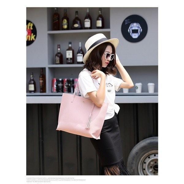 送料無料 翌日発送 トートバッグ レディース 大きめ 大容量 A4 2way puレザー マザーバッグ 通勤バッグ 軽い 手提げ 肩掛け 鞄 かばん 大人 可愛い シンプル|fit-001|11
