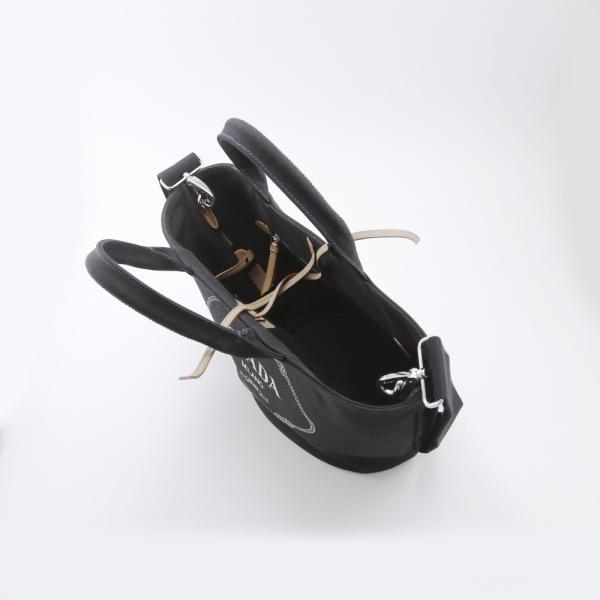 プラダ PRADA トートバッグ CANAPAロゴハンドトートSD付 1BG186-ZKI NERO ブラック ギフトラッピング無料