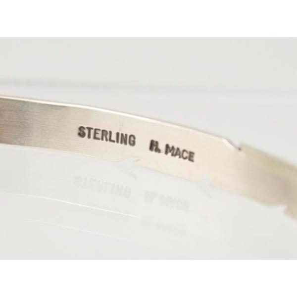 ハービーメイス【Harvey Mace】インディアン ジュエリー バングル SB 1 S FEATHERバングル メンズ レディース ユニセックス シルバー