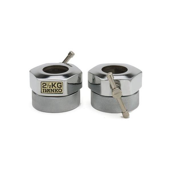 IVANKO(イヴァンコ)オリンピックスタンダードカラー COC-2.5[Φ50mm用バーベルカラー]