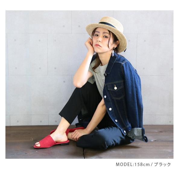 【SALE】 帽子 【メーカー】カンカン帽 レディース ファッション ハット 帽子 リボン 雑貨 小物 ラフィア素材|fitpromotion|04