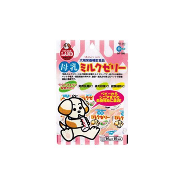 マルカン 母乳ミルクゼリー 16g×15個入 犬用ミルク|five-1