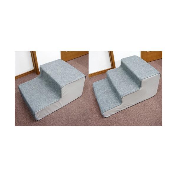 犬・猫用階段 ペットステップ シニア期・介護期向け用 犬用スロープ ステップ|five-1|02