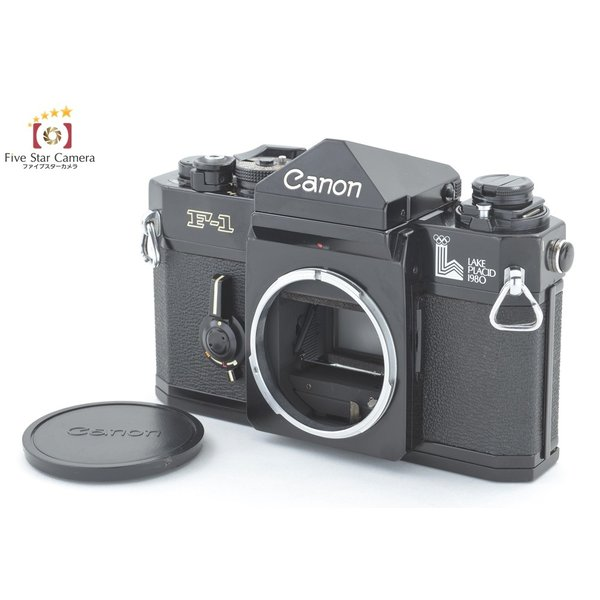 【中古】Canon キヤノン F-1 レークプラシッドオリンピックモデル フィルム一眼レフカメラ