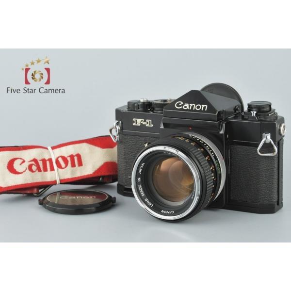 【中古】Canon キヤノン F-1 前期 + FD 50mm f/1.4 フィルム一眼レフカメラ