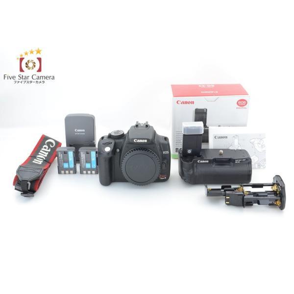 【中古】Canon キヤノン EOS Kiss Digital N + BG-E3 バッテリーグリップ