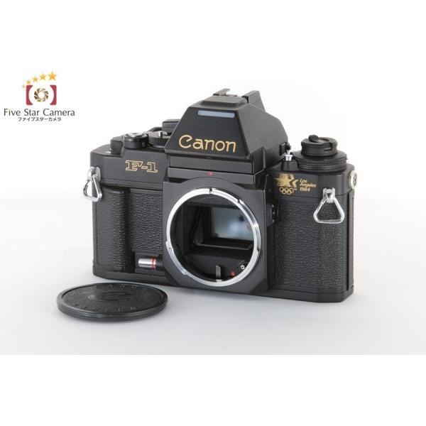 【中古】Canon New F-1 ロスオリンピックモデル フィルム一眼レフカメラ