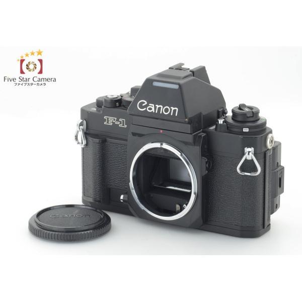 【中古】Canon キヤノン New F-1 AE フィルム一眼レフカメラ データバック  FN 付