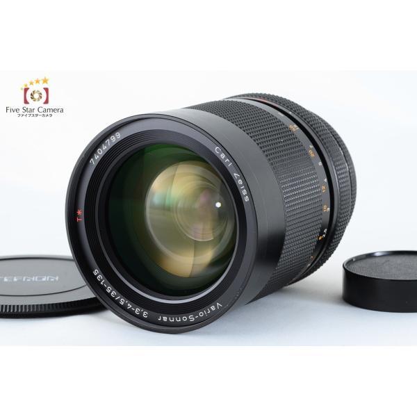 【中古】 CONTAX Carl Zeiss Vario-Sonnar 35-135mm f/3.3-4.5 T* MMJ