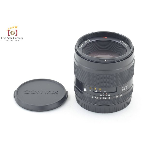 CONTAX コンタックス Carl Zeiss Planar 80mm f/2 T*