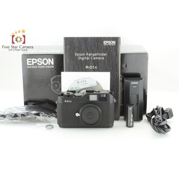 【中古】EPSON エプソン R-D1x レンジファインダーデジタルカメラ