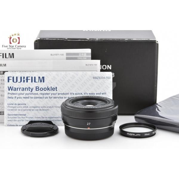 FUJIFILM 富士フイルム XF 27mm f/2.8