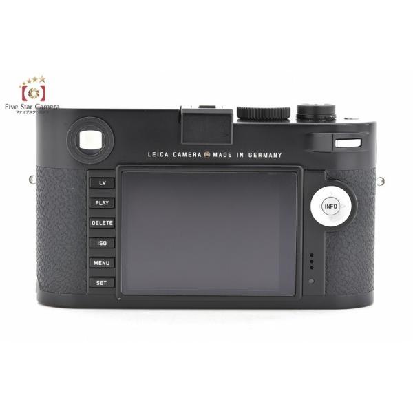 Leica ライカ M(Typ240) ブラックペイント デジタルレンジファインダーカメラ
