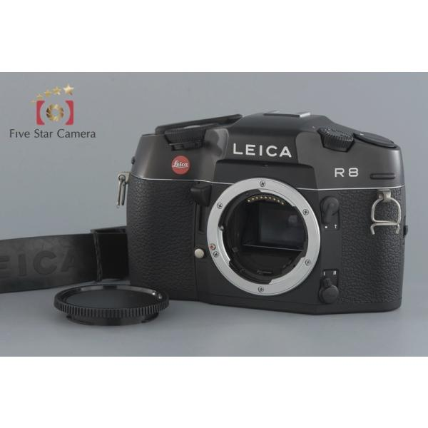 【中古】Leica ライカ R8 ブラックフィルム一眼レフカメラ