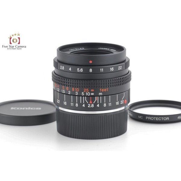 KONICA コニカ M-HEXANON 28mm f/2.8 ライカMマウント用