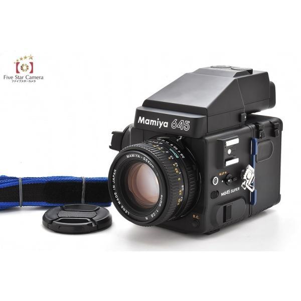 【中古】Mamiya マミヤ M645 SUPER + SEKOR C 80mm f/2.8 N + AEプリズムファインダー