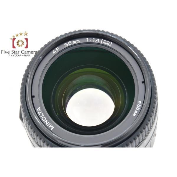 MINOLTA ミノルタ AF 35mm f/1.4 G New