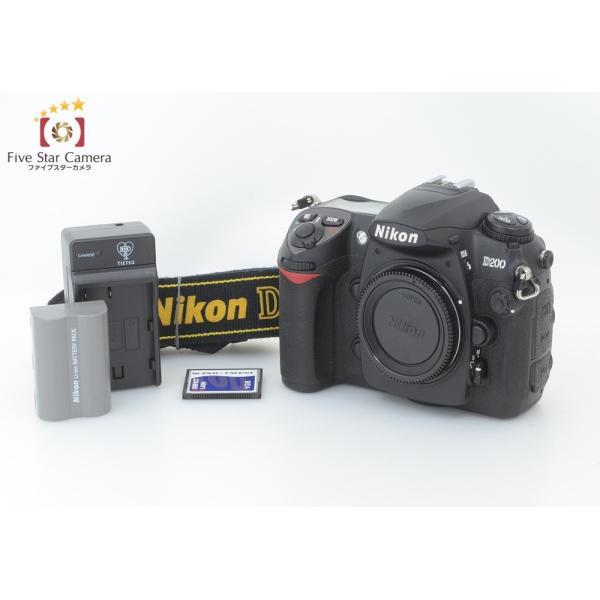 【中古】Nikon ニコン D200 デジタル一眼レフカメラ C