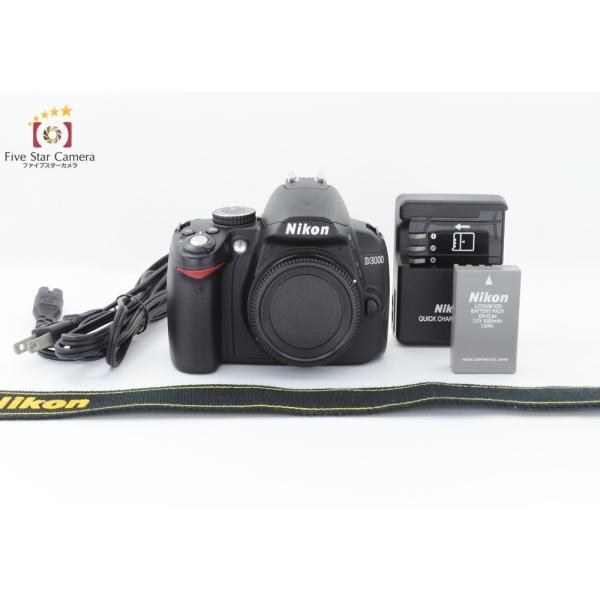 【中古】Nikon ニコン D3000 デジタル一眼レフカメラ