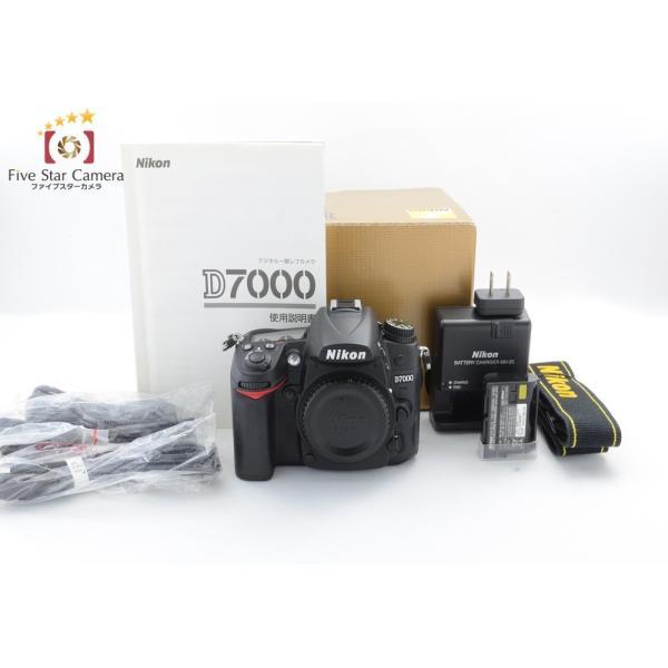【中古】Nikon ニコン D7000 デジタル一眼レフカメラ