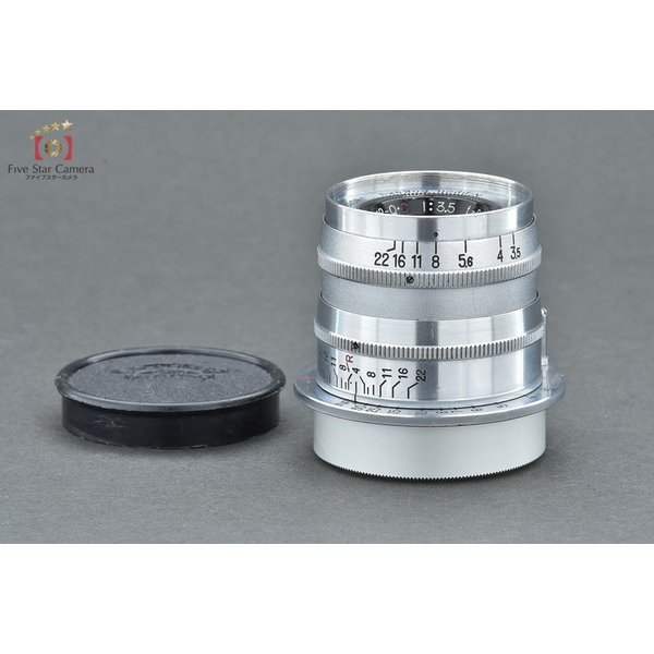 Nikon ニコン NIKKOR-Q.C 50mm f/3.5 ライカLマウント 固定鏡筒