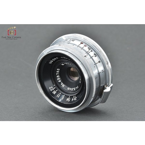 Nikon ニコン S2 前期 +  W-NIKKOR.C 35mm f/3.5