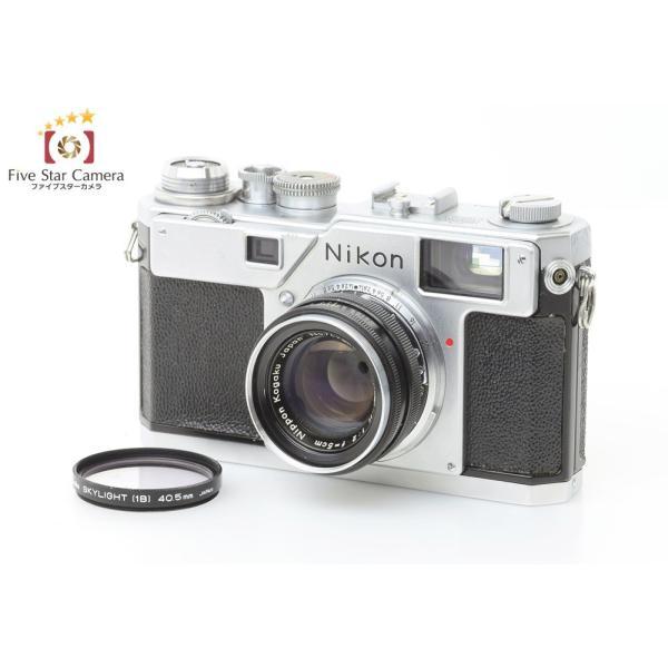 【中古】Nikon ニコン S4 レンジファインダーフィルムカメラ + NIKKOR-H 5cm f/2