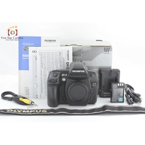 【中古】OLYMPUS オリンパス E-3 デジタル一眼レフカメラ