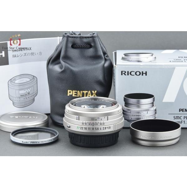 【中古】PENTAX ペンタックス SMC FA 43mm f/1.9 Limited シルバー