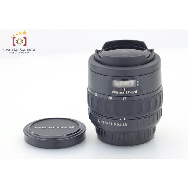 【中古】PENTAX ペンタックス SMC F FISH-EYE 17-28mm f/3.5-4.5