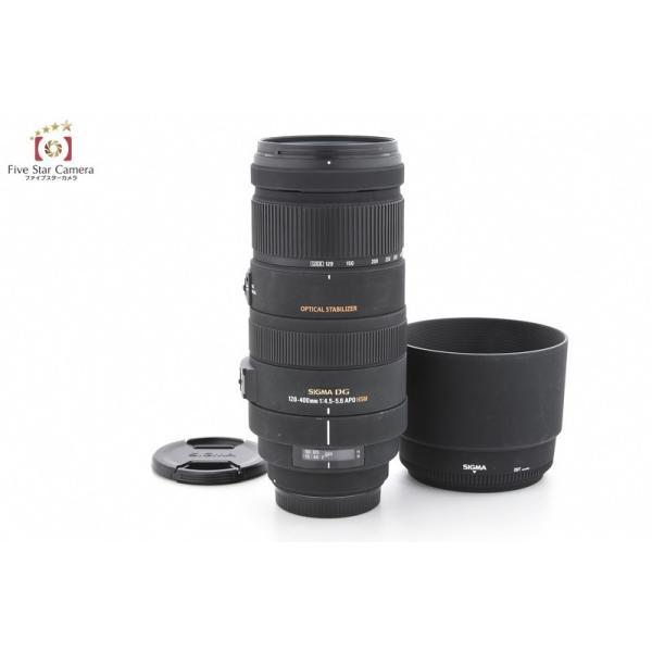 【中古】SIGMA シグマ APO 120-400mm f/4.5-5.6 DG OS HSM キヤノン用