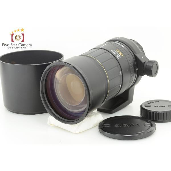 【中古】SIGMA シグマ APO 135-400mm f/4.5-5.6 D ニコン用