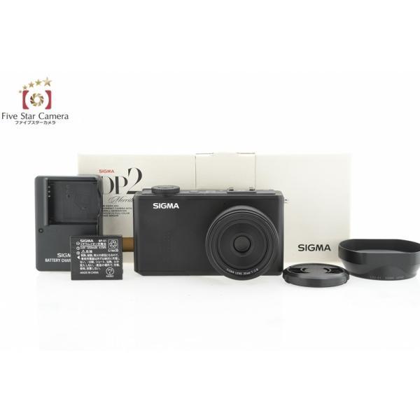 【中古】SIGMA シグマ DP2 Merrill コンパクトデジタルカメラ