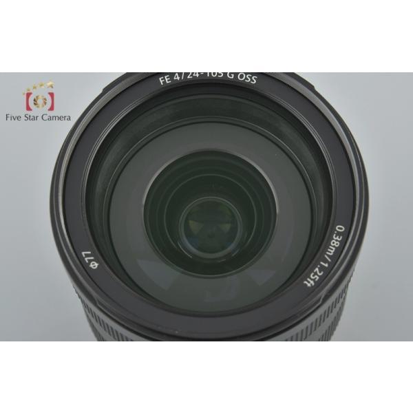 【中古】SONY ソニー FE 24-105mm f/4 G OSS SEL24105G five-star-camera 02
