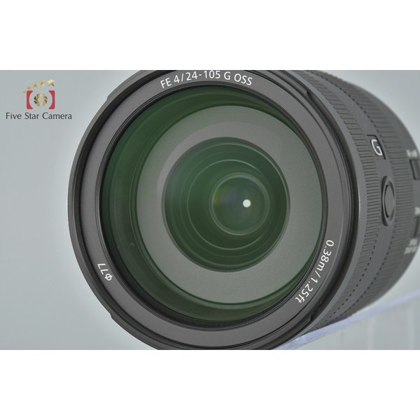 【中古】SONY ソニー FE 24-105mm f/4 G OSS SEL24105G five-star-camera 05