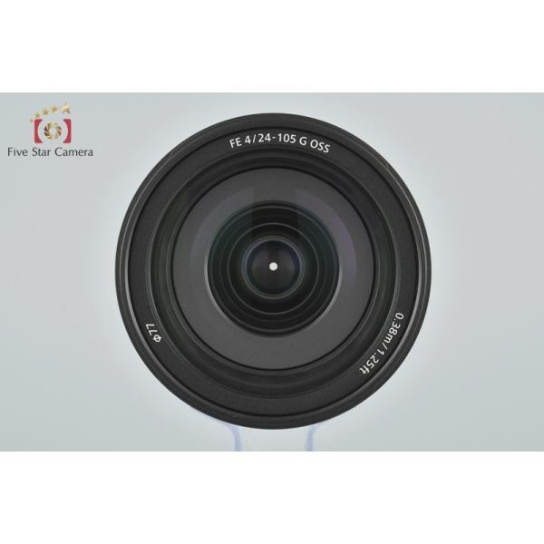 【中古】SONY ソニー FE 24-105mm f/4 G OSS SEL24105G five-star-camera 07