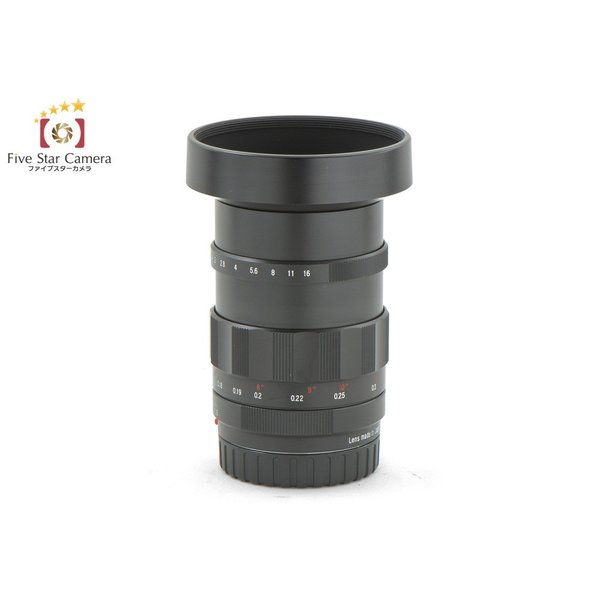 Voigtlander フォクトレンダー NOKTON 25mm f/0.95 マイクロフォーサーズ用