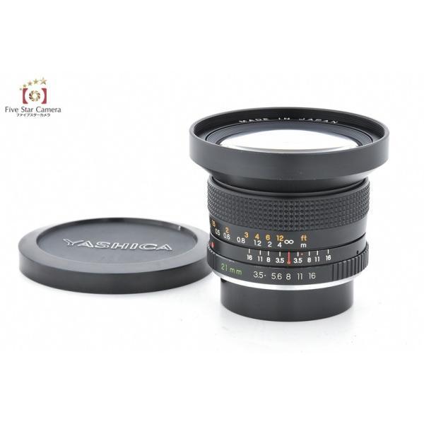 YASHICA ヤシカ ML 21mm f/3.5