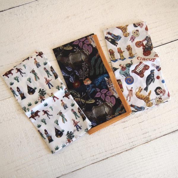Nathalie Lete Handkerchief ナタリー・レテ ハンカチ part2【メール便・ゆうパケット対応商品です】【メール便6枚まで・ゆうパケット10枚まで1通で発送可】