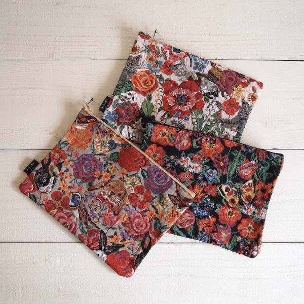 Nathalie Lete Flat pouch ナタリー・レテ フラットポーチ【ゆうパケット対応商品です】