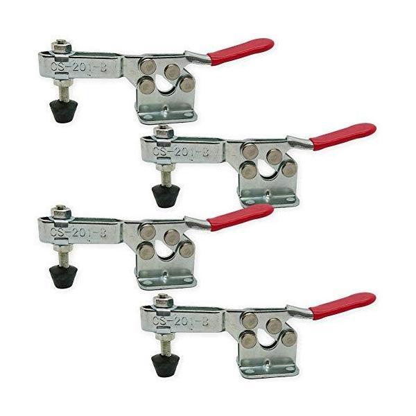 DIY工具トグルクランプ4個セット下方押え型クランプ木工木材固定