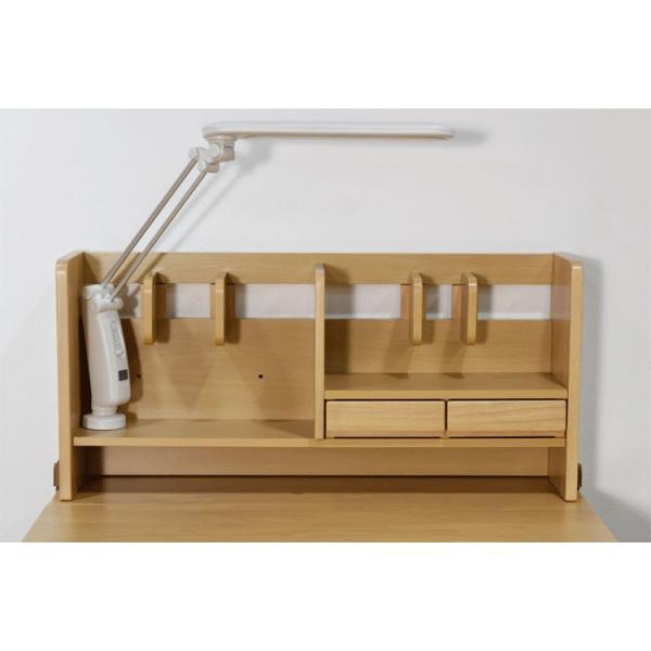 書斎机 ユニットデスク システムデスク 学習机 学習デスク パソコンデスク デスク 机 書棚 ラック エコ仕様 木製 木製デスク 無垢材 子供用 大人用|fiveseason|05