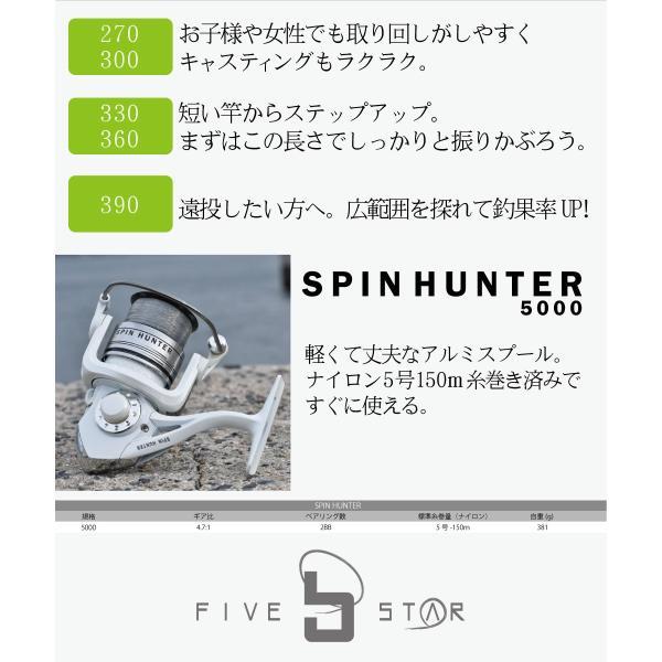 投げ釣り始めるならこのセット!チャレンジ投げ釣りセット/キス/カレイ/投げ釣り/FIVE STAR/ファイブスター|fivestarfishing|05