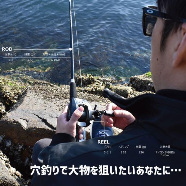 穴釣りで大物を狙いたい!TETORA SET HARD/テトラセットハード/防波堤/テトラ釣り/穴釣り/FIVE STAR/ファイブスター|fivestarfishing|04