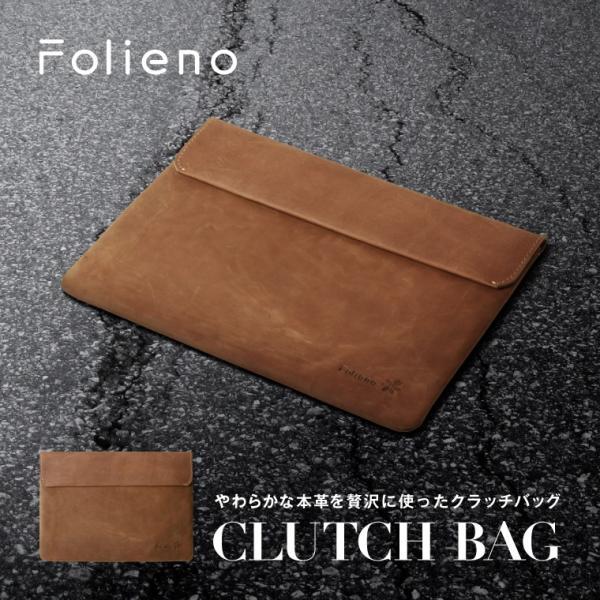 クラッチバッグ 牛革 メンズ 日本製 日本革製品ブランドFolieno(フォリエノ) 総牛革 セカンドバッグ ipadケース 本革 イタリアンレザー ヴィンテージ セール|fizi